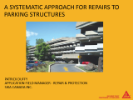 A Systematic Approach for Repairs to Parking Structures